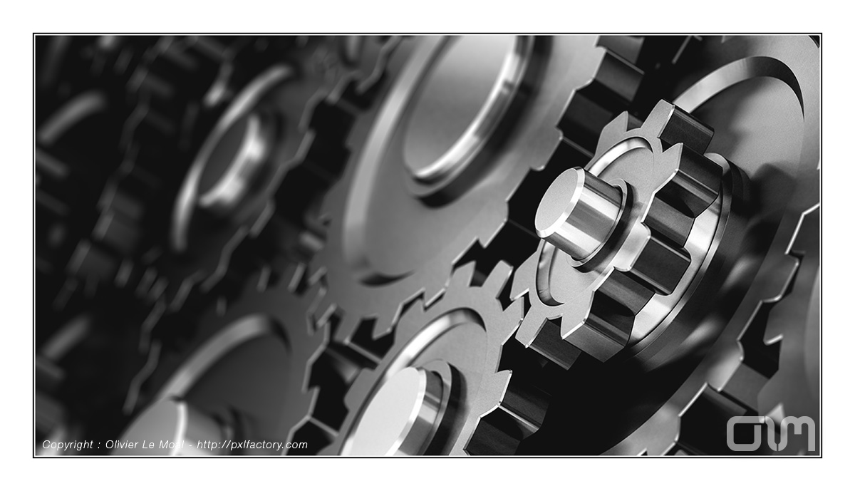 Gears : Copyright Olivier Le Moal